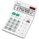 シャープ SHARP ナイスサイズタイプ電卓 (12桁) EL-N432X[ELN432X]