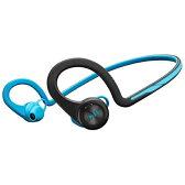 【送料無料】 プラントロニクス スマートフォン対応[Bluetooth3.0] ヘッドセット USB充電ケーブル付 (ブルー) BackBeat FIT[BACKBEATFITBL]