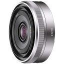 【送料無料】 ソニー 交換レンズ E 16mm F2.8【ソニーEマウント(APS-C用)】[SEL16F28]