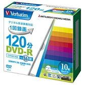 【あす楽対象】 三菱化学メディア 録画用DVD-R 1-16倍速 10枚 CPRM対応【インクジェットプリンタ対応】 VHR12JP10V1