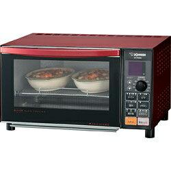象印マホービン オーブン トースター メタリックレッド