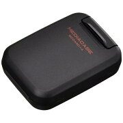 ハクバ ポータブルメディアケースS(SD/MicroSDカード用・ブラック) DMC-20SSDBK[DMC20SSDBK]
