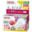 東芝 LED電球 「E-CORE」(ミニクリプトン形・全光束440lm/昼白色・口金E17) LDA6N-D-H-E17/S[LDA6NDHE17S]