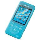 ソニー ウォークマン S780/E080シリーズ用シリコンケース(ブルー) CKM-NWS780LM[CKMNWS780LM]