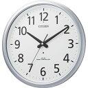 【送料無料】 リズム時計 電波掛け時計(防滴防塵タイプ) 「スペイシーアクア493」 8MY493-019[8MY493019]