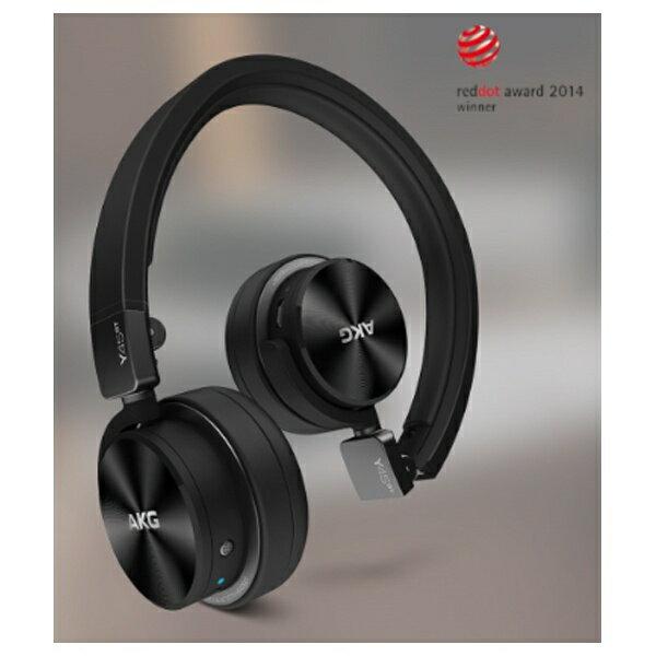 【送料無料】 AKG ブルートゥースヘッドホン Y45BT BLK ブラック [1.2m(着脱式) /Bluetooth]