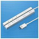 サンワサプライ セイフティータップ (2ピン式・5個口・2m・ホワイト) TAP-2531EW[TAP2531EW]