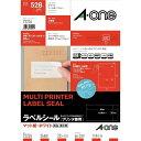 エーワン A-one ラベルシール[プリンタ兼用] (A4サイズ:24面・22シート:528片) 72224[72224]