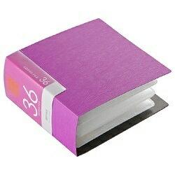 BUFFALO バッファロー CD/DVDファイル ブックタイプ (36枚収納・ピンク) BSCD01F36PK