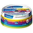 三菱化学メディア 2?8倍速対応 データ用DVD-R DLメディア (8.5GB・25枚) DHR8