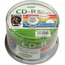 磁気研究所 Magnetic Laboratories HDCR80GP50 データ用CD-R Hi-Disc ホワイト
