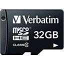 三菱化学メディア 32GB・Class4対応microSDHCカード(SD変換アダプタ無し・防水仕様)MHCN32GYVZ1