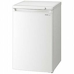 【標準設置費込み】 シャープ 冷凍庫 (86L) FJ-HS9X-W ホワイト系[FJHS9X]