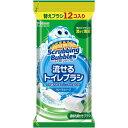 ジョンソン シャット 流せるトイレブラシ 替えブラシ 12個入り〔トイレ用洗剤〕