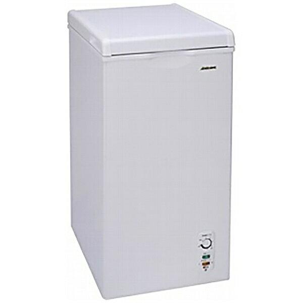 【標準設置費込み】 アビテラックス 直冷式チェスト冷凍庫 (60L) ACF-603C ホワイト[ACF603C]