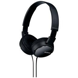 ソニー ヘッドホン(ブラック) MDR-ZX110 B 1.2mコード[MDRZX110B]