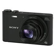 【送料無料】 ソニー SONY コンパクトデジタルカメラ Cyber-shot(サイバーショット) DSC-WX350(ブラック)[DSCWX350BC]