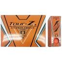 朝日ゴルフ用品 【公認球】ゴルフボール Tour-Z. HYPER-DRIVE -TYPE- O《1ダース(12球/オレンジ)》TZHD-BC1408【ビックカ...