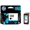 HP ヒューレット・パッカード C8767HJHP130 純正プリンターインク 130 黒[C8767HJHP130]