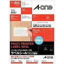 エーワン パソコンプリンタ&ワープロラベル NEC文豪シリーズタイプ3列用 (A4・18面×100シート) 28186