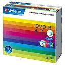 三菱化学メディア 1〜16倍速対応 データ用DVD-Rメディア (4.7GB・10枚) DHR47JP10V1