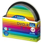 【あす楽対象】 三菱化学メディア 2〜8倍速対応 データ用DVD-R DLメディア (8.5GB・10枚) DHR85HP10SV1