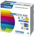 三菱化学メディア 1〜2倍速対応 データ用DVD-RWメディア CPRM付き (4.7GB・10枚) DHW47NDP10V1