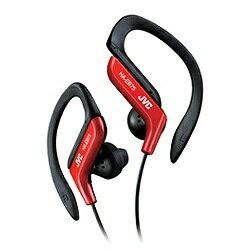 JVC [防滴仕様]耳かけ型イヤホン (レッド) HA-EB75-R 1.2mコード[HAEB75R]