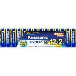 パナソニック Panasonic LR6EJSP/14S 【単3形】14本 アルカリ乾電池 「エボルタ」 LR6EJSP/14S[LR6EJSP14S] panasonic