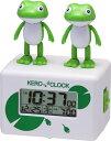 リズム時計 目覚まし時計 「ケロクロック2」 8RDA46RH03