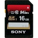 ソニー SONY SDHCカード SF-UXシリーズ SF-16UX [16GB /Class10][SF16UX]