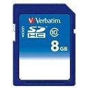 三菱ケミカルメディア MITSUBISHI CHEMICAL MEDIA SDHCカード Verbatim(バーベイタム) SDHC8GJVB1 [8GB /Class10][SDHC8GJVB1]