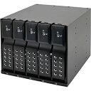 【送料無料】 センチュリー SATA3.5HDD リムーバブルラック iStarUSA BPN-DE Series 5Bayモデル(ブラック) BPN-DE350SS-BK[BPNDE350SSBK]