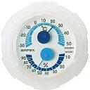 エンペックス EMPEX INSTRUMENTS TM-2381 温湿度計 シュクレミニ クリアホワイト [アナログ][TM2381]