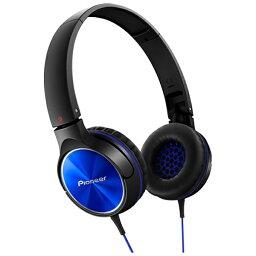 パイオニア ヘッドホン(ブルー) SE-MJ522L 1.2mコード[SEMJ522L]