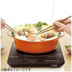 【送料無料】アイリスオーヤマ卓上型薄型IH調理器(1口)IHC-T41-B[IHCT41]