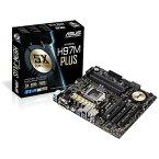 【送料無料】 ASUS Micro ATXマザーボード [LGA1150・Intel H97・DDR3] H97M-PLUS