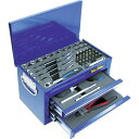 【送料無料】 スエカゲツール 1/4DR.51PCミニチェストツールセット ブルー MC0251BR