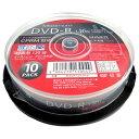 MAXIMUM 録画用DVD-R 1-16倍速 10枚 CPRM対応【インクジェットプリンタ対応】MXDR12JCP10