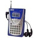 ANDO 【ワイドFM対応】FM/AM/SW(短波) 携帯ラジオ AR4-434S[AR4434S]...