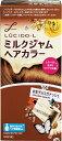 マンダム 【LUCIDO-L(ルシードエル)】ミルクジャムヘアカラー生チョコガナッシュ