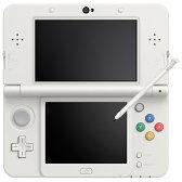 【あす楽対象】【送料無料】 任天堂 Newニンテンドー3DS ホワイト [ゲーム機本体]