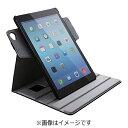 エレコム iPad Air 2用 ソフトレザーカバー 360度回転タイプ ブラック TB-A14360BK[TBA14360BK]