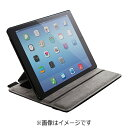 エレコム ELECOM iPad Air 2用 ソフトレザーカバー 4アングルタイプ ブラック TB-A14PLF2BK