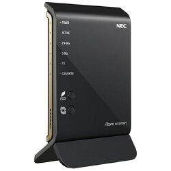 【あす楽対象】【送料無料】NEC 無線LANルータ(11ac 1300Mbps+11n 450Mbps・親機単体) AtermWG1800HP2 PA-WG1800HP2