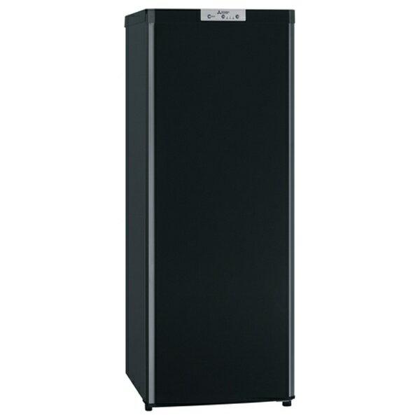 【標準設置費込み】 三菱 《基本設置料金セット》 1ドア冷凍庫 「Uシリーズ」 (144L) MF-U14Y-B サファイアブラック[MFU14Y]