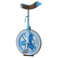 【送料無料】 ブリヂストン 16型 一輪車 スケアクロウ(ライトブルー)SCW16 【代金引換配送不可】の画像