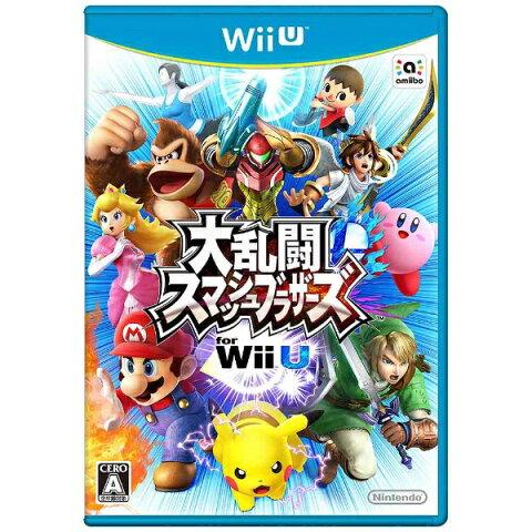 【送料無料】 任天堂 大乱闘スマッシュブラザーズ for Wii U【Wii Uゲームソフト】
