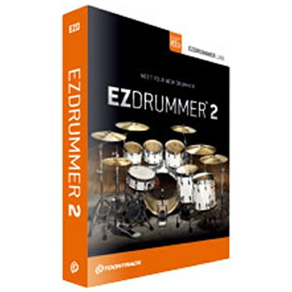 【送料無料】 クリプトンフューチャーメディア TOONTRACK 〔Win・Mac版/シリアルナンバー〕 EZ DRUMMER 2