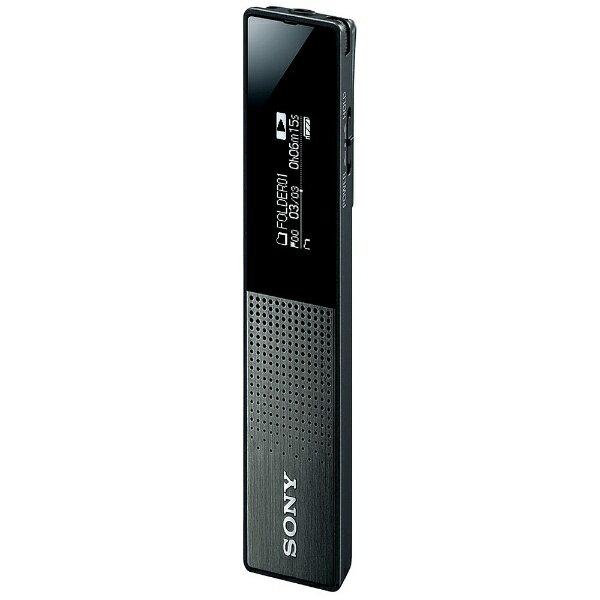 【あす楽対象】【送料無料】 ソニー リニアPCMレコーダー【16GB】(ブラック) ICD-TX650BC[ICDTX650BC]
